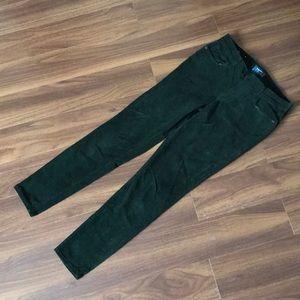 Old Navy corduroy green pants